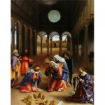 Christ's farewell to Mary-Lorenzo Lotto