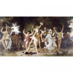The youth of Bacchus-William Adolphe Bouguereau